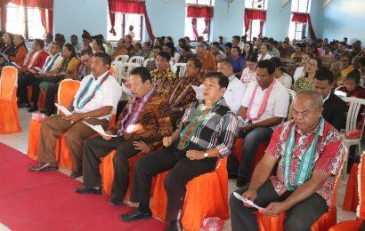 Tiga Paslon Bupati dan Wakil Bupati Kabupaten Kupang Ikut Pastoral Politik