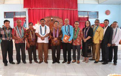 Paslon Bupati dan Wakil Bupati Kupang Komitmen Jaga Persaudaraan