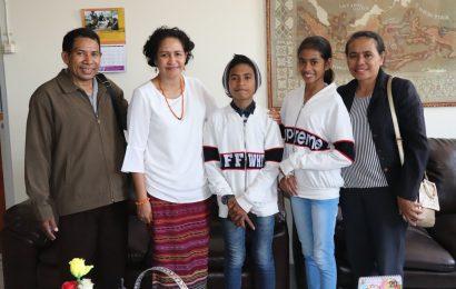 Peserta The Voice Kids Asal Kupang Temui Majelis Sinode GMIT