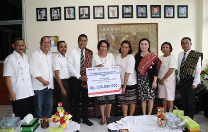 BNI Sumbang Dana CSR Senilai 500 Juta Untuk GMIT