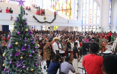 Natal Oikumene: Bersama Membangun NTT
