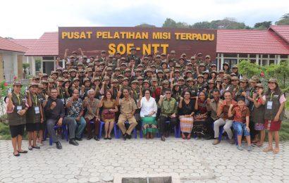 98 Vikaris GMIT Ikut Pelatihan Pengembangan Swadaya Masyarakat