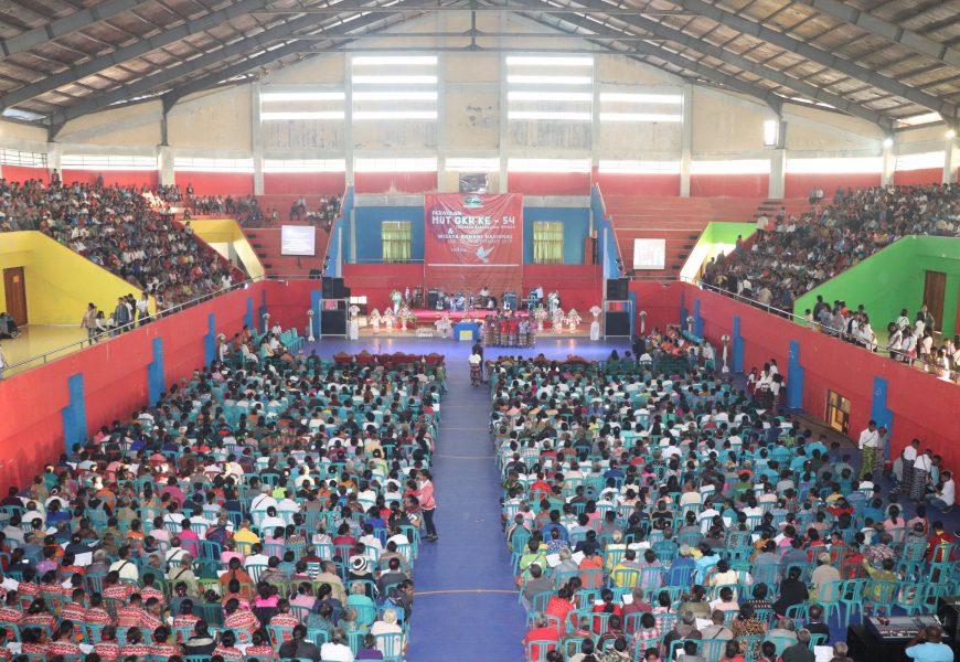 Ribuan Anggota Persekutuan Doa GMIT Hadiri HUT Gerakan Kebangunan Rohani ke-54