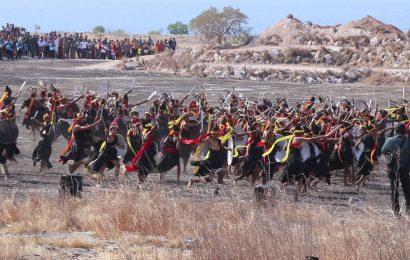 Ratusan Kuda dan Penari Tampilkan Atraksi Budaya Sumba Pada Pembukaan Sidang Raya XVII PGI