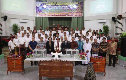 Serah Terima Majelis Sinode (MS) GMIT dan Perhadapan Anggota MS-GMIT Ex-Officio 2020-2023
