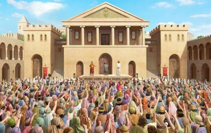 Yesus Dalam Pusaran Pengadilan Pilatus – Khotbah (Yohanes 18: 28-19:15)