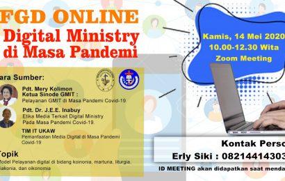 FGD Digital Ministry di Masa Pandemi Covid-19