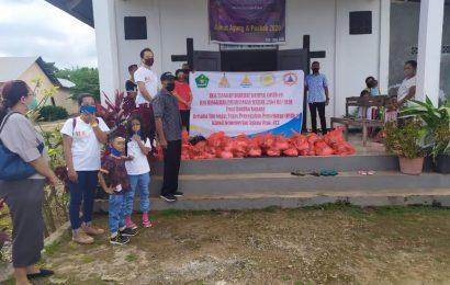 Magabudhi NTT Sumbang 100 Paket Sembako Untuk Jemaat GMIT di Sikumana