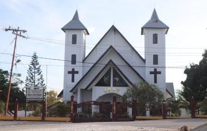 Mitigasi Covid Saat Kebaktian di Gereja, Jemaat GMIT Zoar Penkase Siagakan 19 Tenaga Medis
