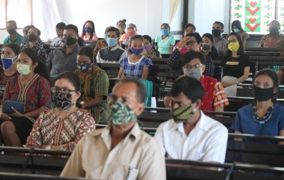 Masih Ada Anggota Jemaat Enggan Pakai Masker