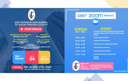 Webinar: GMIT Memasuki New Normal di Tengah Pandemi Covid-19