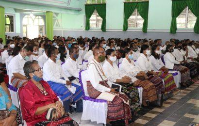 Perhadapan Pengurus Tim Pengembangan Liturgi dan Musik Gereja