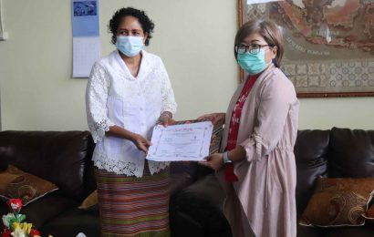 Penandatanganan MoU MS GMIT dan CBN Tahap II