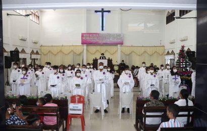 Jemaat Bethania Naikolan Teguhkan 34 Anggota Sidi Baru