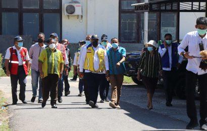 Wakil Menteri PUPR Kunjungi Posko Tanggap Bencana Siklon Seroja MS GMIT