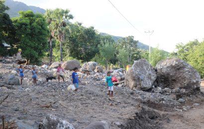 Pasca Bencana Longsor, Warga Tamalabang-Pantar Krisis Air Bersih