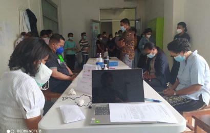 Karyawan Kantor MS GMIT Dukung Tenaga Laboratorium Biokesmas NTT