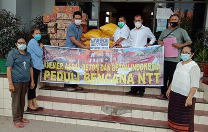 Asosiasi Aspal Dan Beton Bantu Korban Siklon Seroja NTT