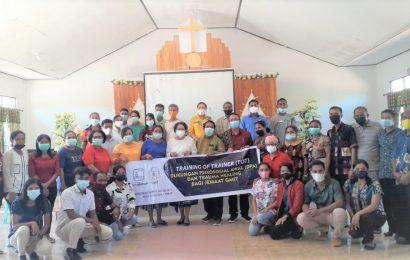 Pasca Seroja Tim Pastoral dan DPA-MS GMIT Adakan Pelatihan di Sabu