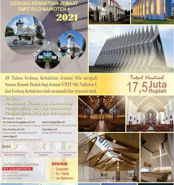 Sayembara Desain Gedung Kebaktian Jemaat Silo Naikoten