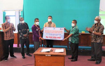 Bank NTT Sumbang 500 Juta Bangun Gedung Aula Sidang Sinode GMIT XXXV